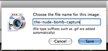 mac capture video set filename