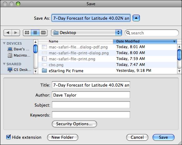 mac safari file print dialog pdf save