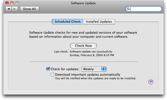 Can I save Mac OS X updates for my network? - Ask Dave Taylor