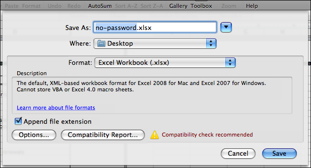 How to remove password protection from a Microsoft Excel worksheet ...