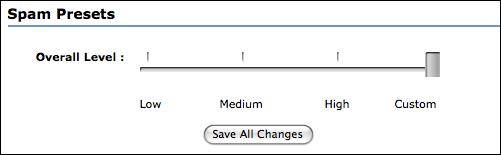 myspace settings spam presets