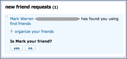 orkut new friend request