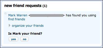 orkut new friend request