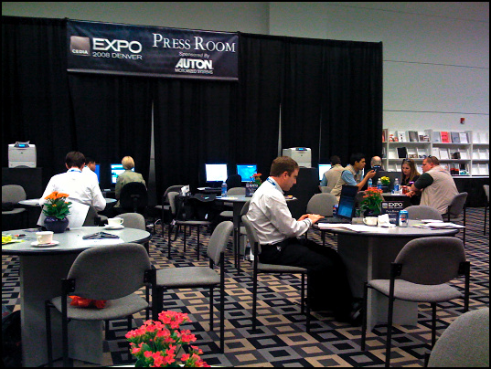 Press Room at CEDIA