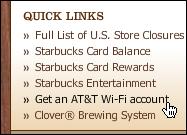 starbucks att get wifi account