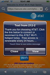 starbucks attwifi iphone connect txt 1