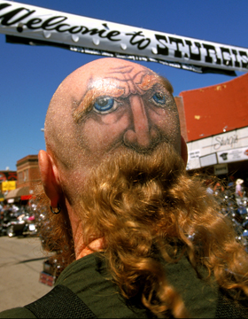 Sturgis Motorcycle Rally: Photo by Brad Crooks