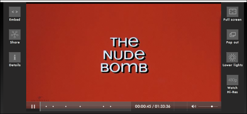 the nude bomb titles