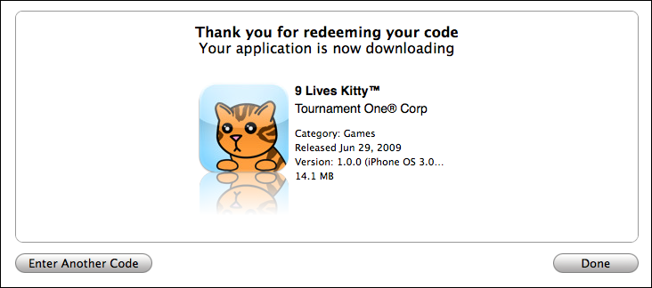 9 lives kitty iphone app downloading