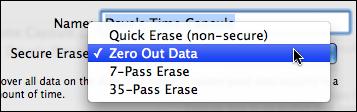 airport utility manual setup disks erase security