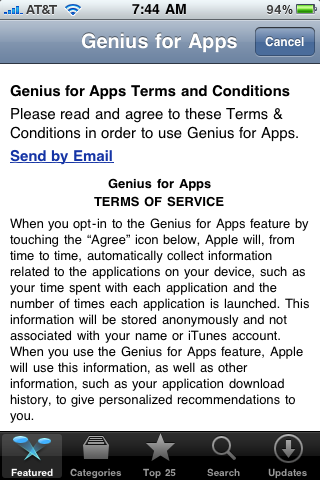 apple iphone app genius 5