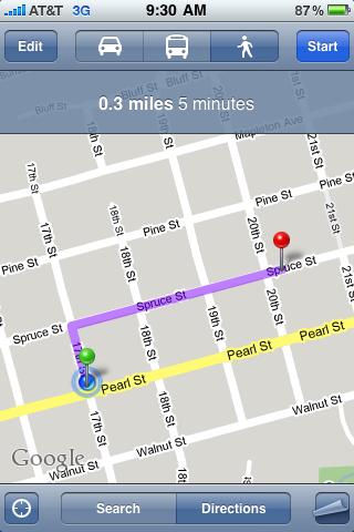 apple iphone google map pin drop 87