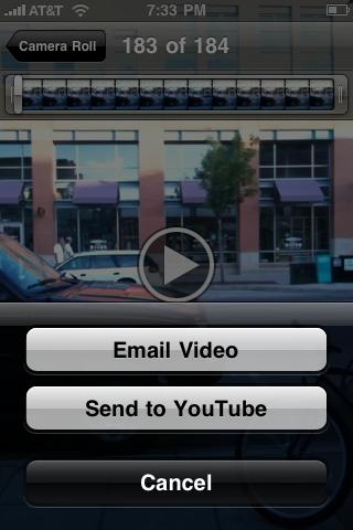 apple iphone upload video youtube 02