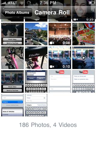 apple iphone upload video youtube 08