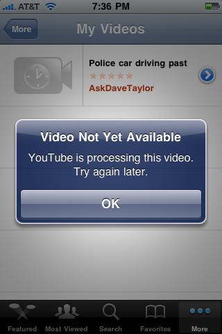 apple iphone upload video youtube 11