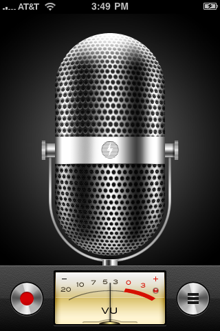 apple iphone voice memos