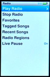 apple ipod nano 5g fm radio