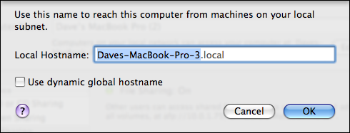 apple mac system preferences sharing edit name