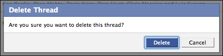 facebook delete confirm window