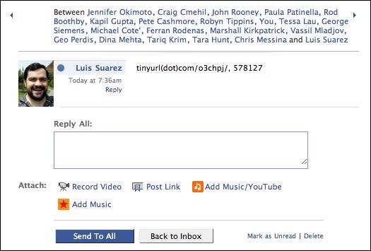 facebook phishing mail