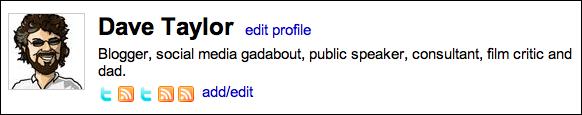 friendfeed profile
