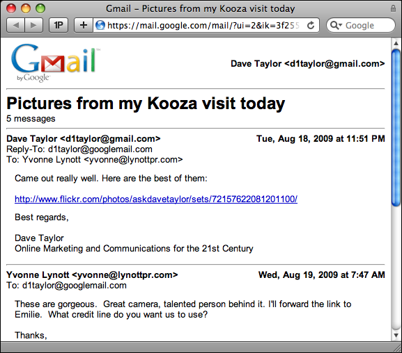 how do i print an entire email thread in gmail ask dave taylor