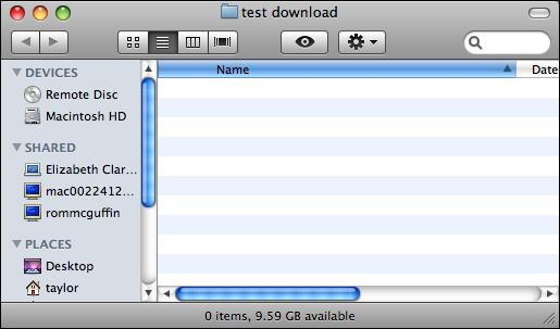 image capture iphone download empty