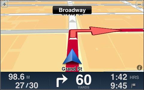 iphone tomtom gps nav