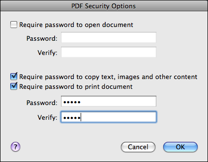 powerpoint file print save as pdf password 2
