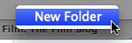 safari 4 create new bookmarks folder