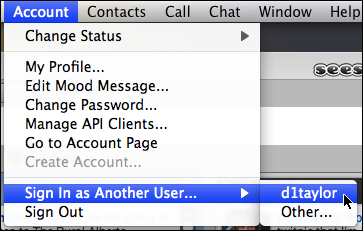 skype account sign in other user 2