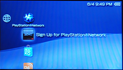 PS4 Network Status Page