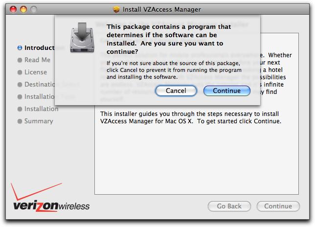 vzaccess manager mac install 1
