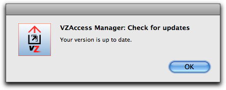 vzaccess manager mac post install 2