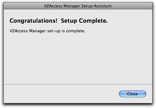 vzaccess manager mac post install 9