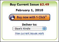 amazon kindle magazine buy current issue