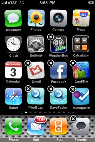 apple iphone reorder app icons 1