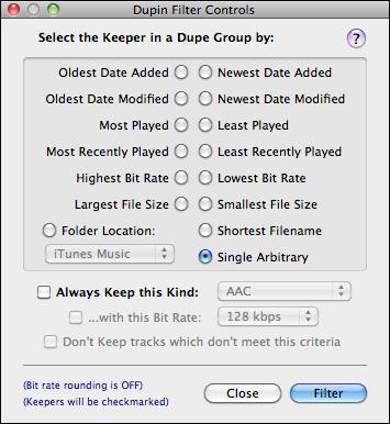 apple itunes duplication dupin 3