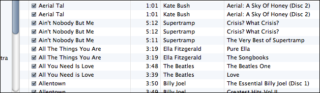 apple itunes show duplicate tracks