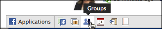 facebook bottom nav bar groups