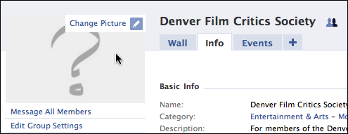 facebook edit group settings picture