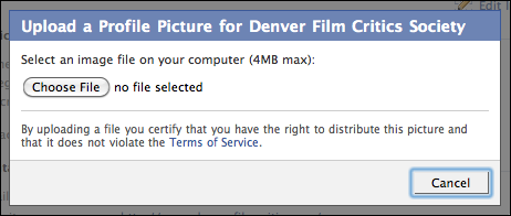 facebook edit group settings profile picture upload