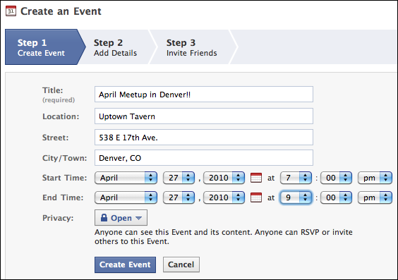 How do I create an event for my Facebook group? - Ask Dave Taylor