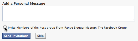 how to create event on facebook in group
