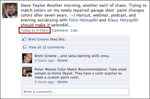 how to post a new comment on facebook