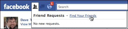how to send friend request on facebook business page