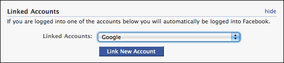 facebook my account settings linked accounts 4