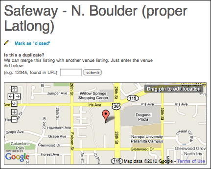 foursquare fix location 5