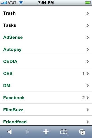gmail iphone folders labels 3