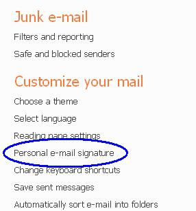hotmail how to know who sending unwanted email
